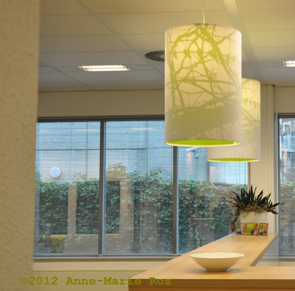 Lamp design by Anne-Marie Ros